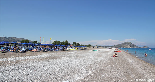 Afandou strand