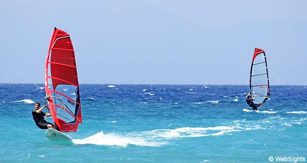 Ialyssos windsurfing