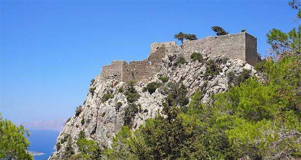 Monolithos ruin